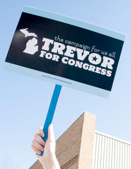 Fmr. US Rep. Patrick Murphy, author of Don't Ask, Don't Tell repeal bill, endorses Trevor Thomas in MI-03