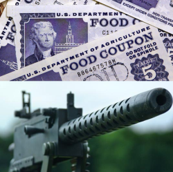 Republicans come to the rescue of the military but food stamp recipients will have to pay the price