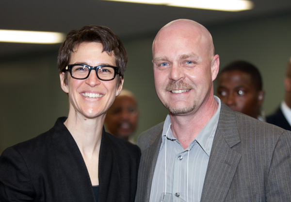 "My obligatory ""Hey, I got my picture taken with Rachel Maddow"" post"