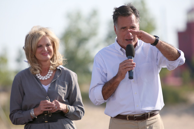 "<h2>What the...?</h2> This image was taken by Anne at Mitt and Ann Romney's campaign stop in Holland, Michigan last week (our write-up with photos <a href=""http://eclectablog.com/2012/06/romneys-every-town-counts-tour-hits-michigan-apparently-only-all-male-all-white-towns-count.html"">HERE</a>.)  See the photo after the jump and leave your caption contest entry in the comments."