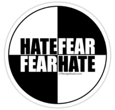 Hate is a Pandora's Box that has been opened wider this past year