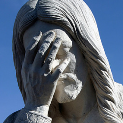 PHOTO: Tuesday morning Obama-hater facepalm