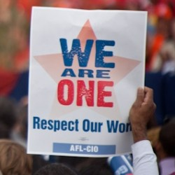 Wear Red Monday – Show your solidarity with the workers of Michigan