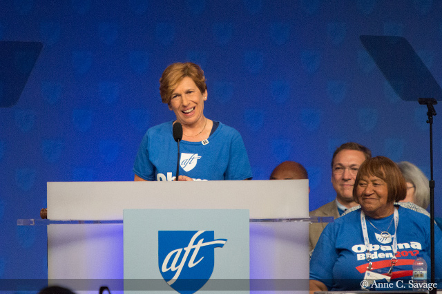 AFT President Randi Weingarten shares her personal story and her truth about being raped