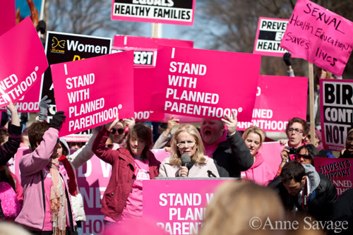Debbie Dingell With Planned Parenthood