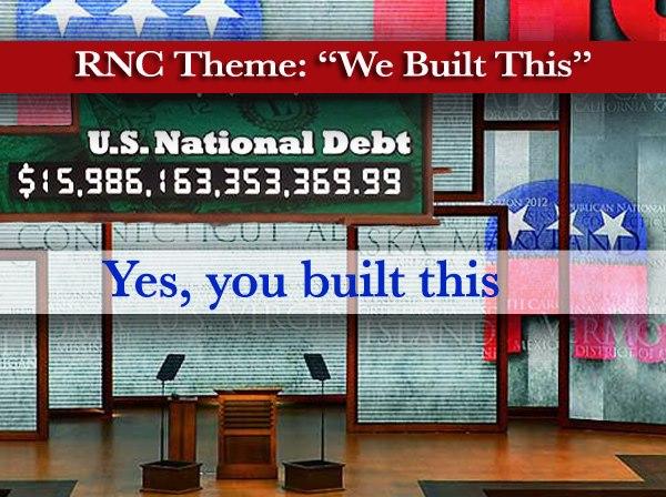 """Republican Convention recap: """"America sucks and 'WE BUILT THIS'"""""""