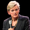 Jennifer Granholm's response to Mitt Romney's birther remark is a doozy