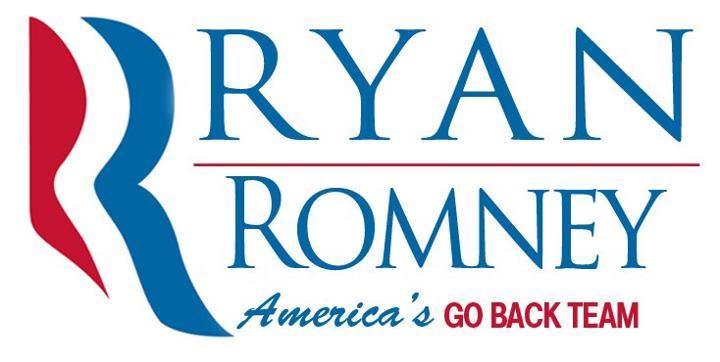 ECLECTAGRAPHIC: Ryan/Romney: America's Go Back Team