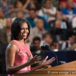 Michelle Obama's 2012 DNC speech with photos and transcript