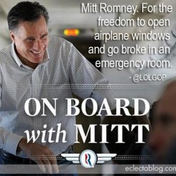 "Romney fundraising email today: ""On Board with Mitt"" (Just don't, you know, open the windows)"