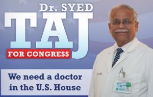 Mark Maynard interviews Dr. Syed Taj, candidate for Congress in MI-11