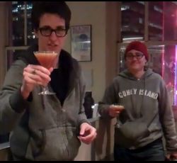 "Rachel Maddow and Laura Conaway have a ""Cocktail Moment"" with an ""Emergency Manager"""