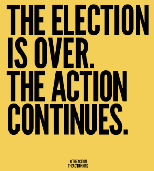 """<h2>The time for ACTION is NOW!</h2> Last week, <a href=""""http://www.eclectablog.com/2012/11/whats-next-for-ofa-the-obama-grassroots-organization-theaction-org-and-more.html"""">I wrote about</a> the new website <a href=""""http://theaction.org"""">TheAction.org</a>, a new organizing tool to help pass President Obama's second term agenda. This weekend marks the first Day of Action using this organizing tool. The activities are designed to ensure that Congress passes a repeal of the Bush tax cuts on the wealthiest 2% of Americans while preserving the middle class tax cuts that actually help stimulate our economy by keeping money in the hands of those who will immediately put it back into the economy.  Details on how you can get involved after the jump."""