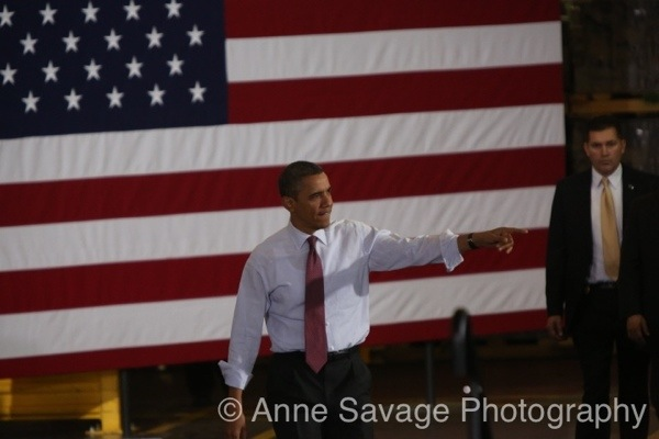 """Pres. Obama amplifies our message in Michigan: """"Right to Work is the right to work for less"""" (PHOTOS)"""