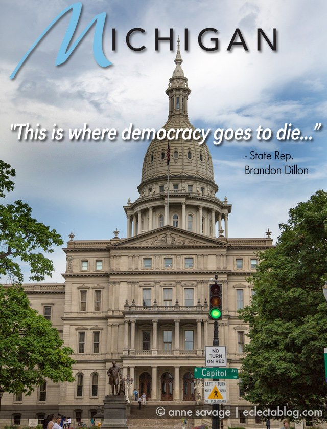 GRAPHIC MEME: Michigan, where Democracy goes to die
