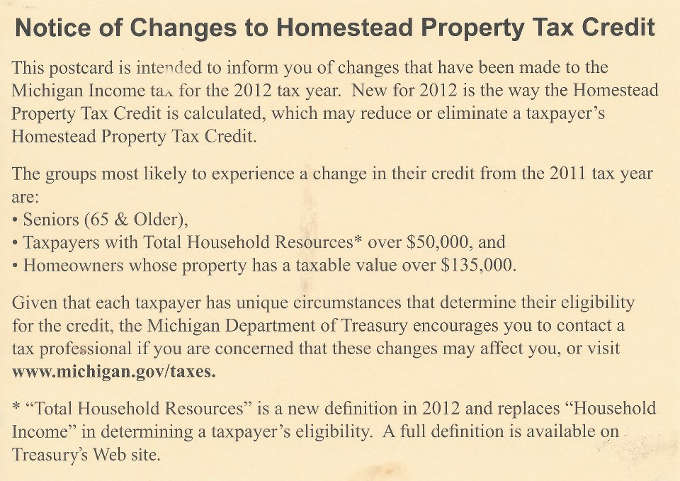 Tax the POOR! – Michigan's tax time bomb begins to explode ...