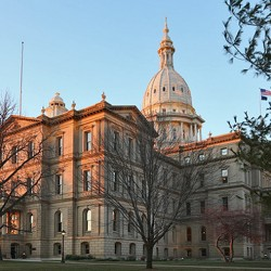 "In Michigan, working 103 days out of the year is considered a ""full-time"" legislature"