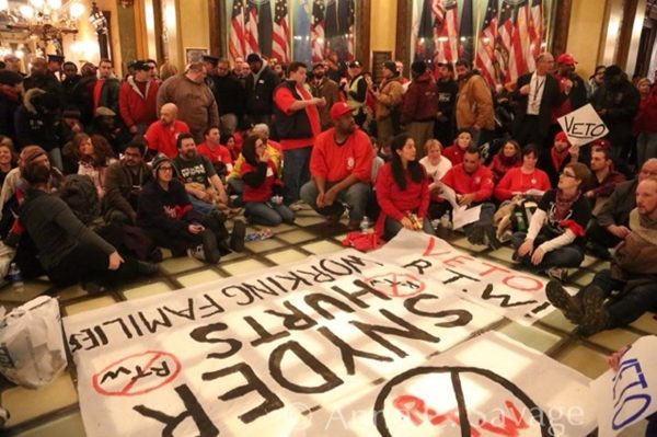 Lawsuit to strike down Michigan's Right to Work law filed in federal court