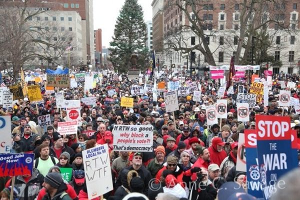 Michigan Republicans seek to make illegal union picketing more illegal