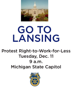 UPDATED: As more groups sign on to Tuesday's Lansing rally, conservative groups reserve Capitol steps to thwart them