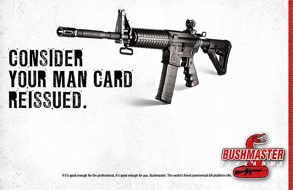 <h2>This isn't about the right to bear arms, it's about the right to be a freak</h2>