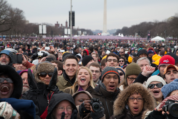 More images from the Obama & Biden inauguration including exclusive interactive panoramas
