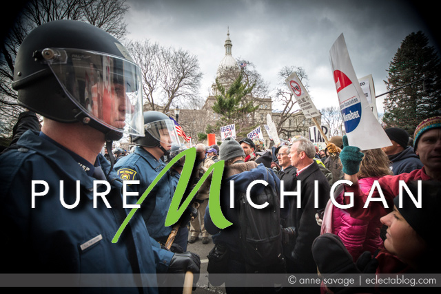Michigan Governor uses Pure Michigan tourism brand to brag about screwing unions with Right to Work