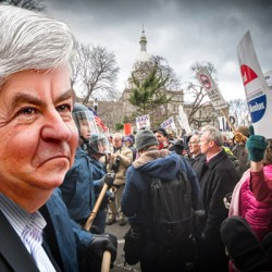 When Gov. Snyder and AG Schuette feud, innocent people get hurt. Big surprise, this time it's teachers.