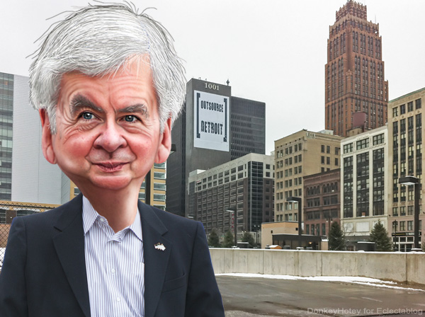 "Detroit Public Schools Emergency Manager Roy Roberts boldly lies on national television about his ""success"""