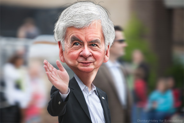 Rick Snyder takes 114 words to say ABSOLUTELY NOTHING about equal employment rights for gay & lesbian citizens