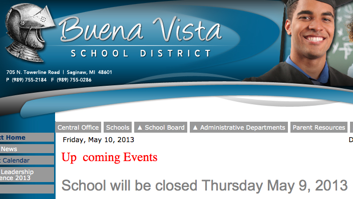 Day 4: Buena Vista schools still closed due to lack of funds. Why hasn't Governor Snyder acted?