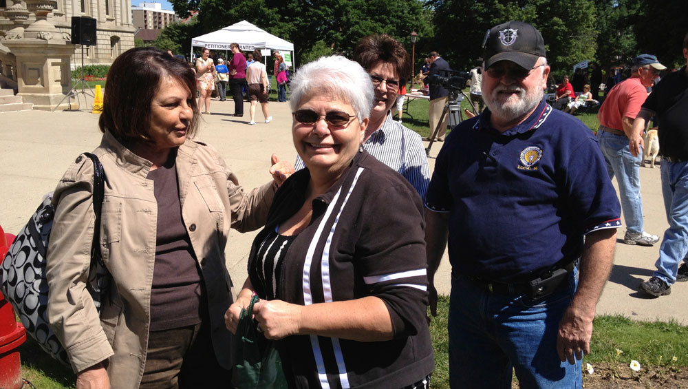 Natalie Mosher, Joe & Kathy Carney