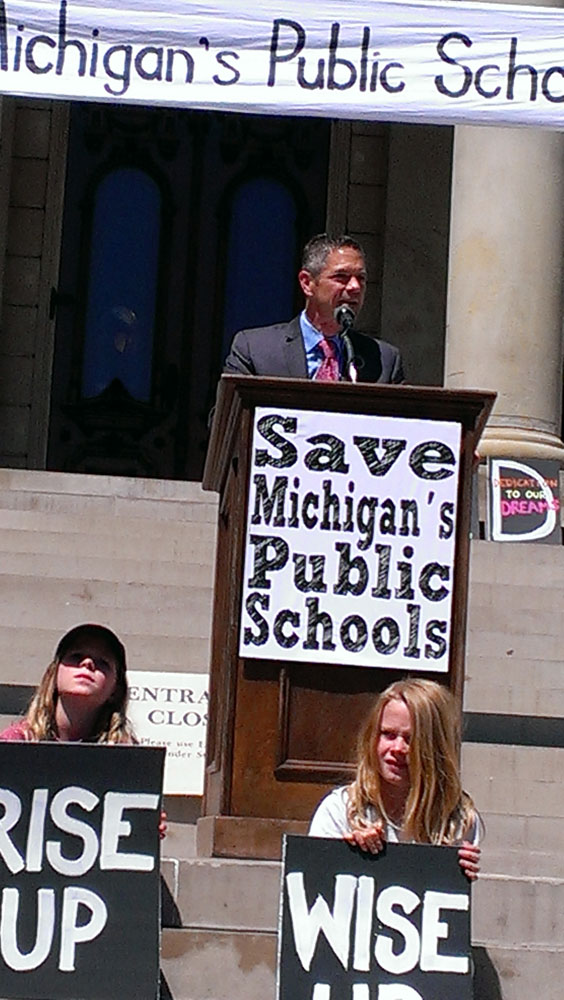 Our Next Governor, Mark Schauer.
