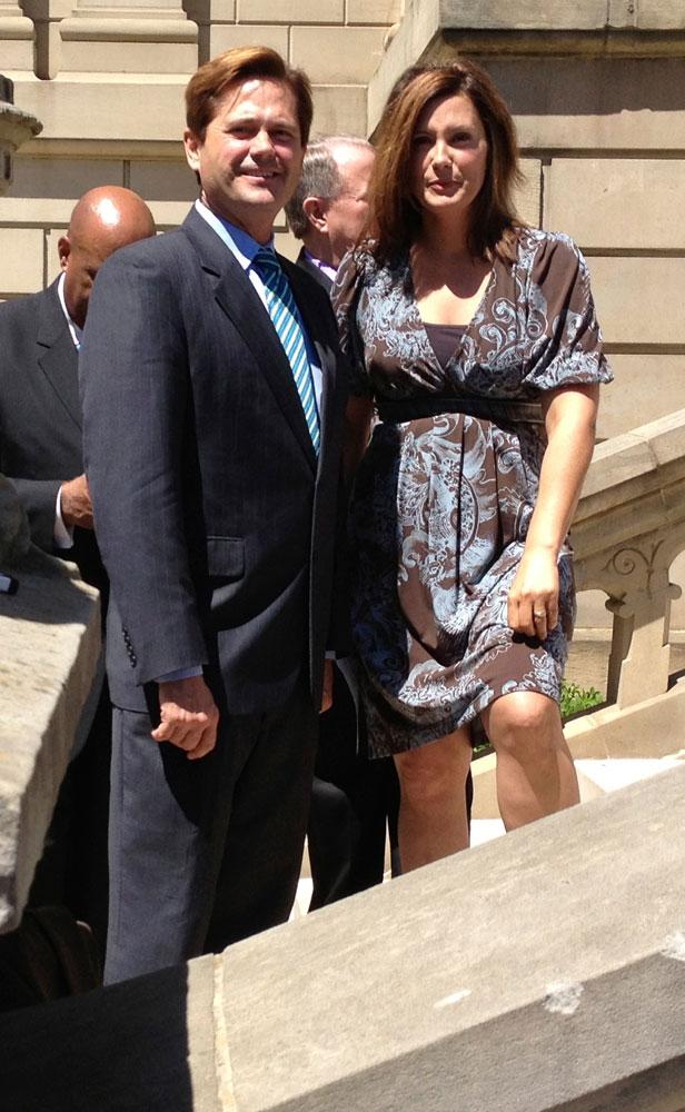 Steve Bieda & Gretchen Whitmer