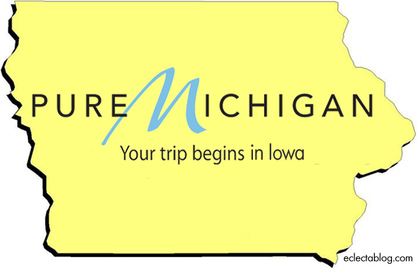 Pure Michigan: Your trip begins in … Iowa?