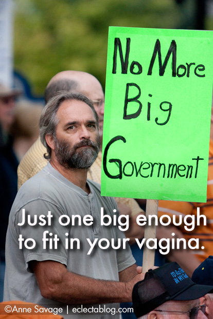 ECLECTAMEME: Texas government all up in your vagina