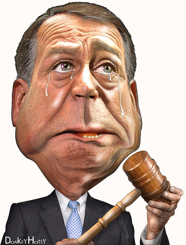 Out of the frying pan and into the tea pot: What if John Boehner does the right thing then loses his job?