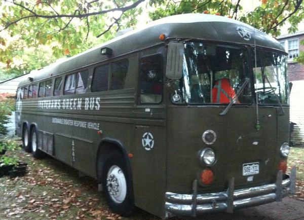 EVENT/INTERVIEW: Veterans Green Bus is in Detroit to teach vets sustainable energy skills and so, SO much more