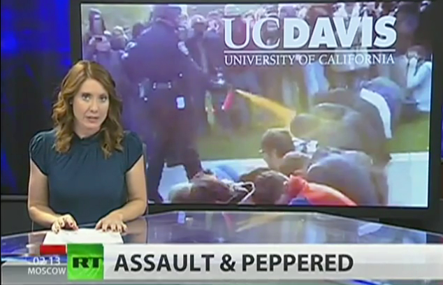 Cop who pepper-sprayed UC-Davis students scores worker's comp payoff bigger than students' award from lawsuit