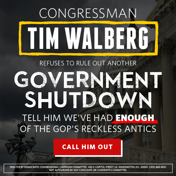 DCCC holding Republicans accountable for not passing new budget to prevent another #GOPshutdown