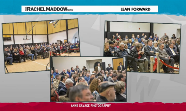 Eclectablog photographer Anne Savage's work featured on The Rachel Maddow Show, Huffington Post