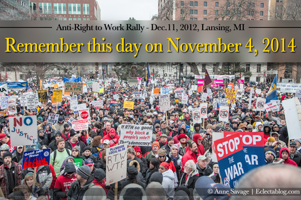 A few things to remember about a day to never forget: the day the birthplace of the labor movement became right to work