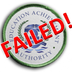 DING DONG! The Education Achievement Authority is dead! (in a year and a half)