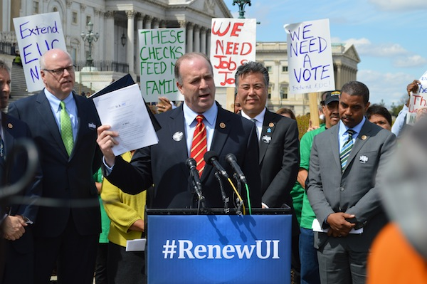 Congressman Dan Kildee of Michigan leads the charge to renew unemployment insurance benefits #RenewUI