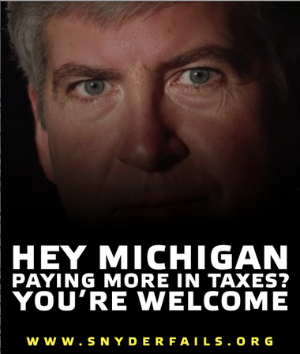 Anyone who sees a GOP wave isn't looking at Michigan