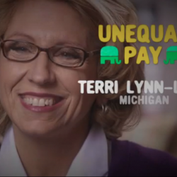 Terri Lynn Land Wants to Remind Us She Doesn't Support Equal Pay