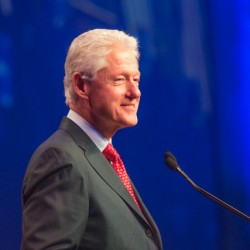 Helped by Explainer-in-Chief Bill Clinton, Michigan Dems fire up at the annual Jefferson-Jackson Dinner
