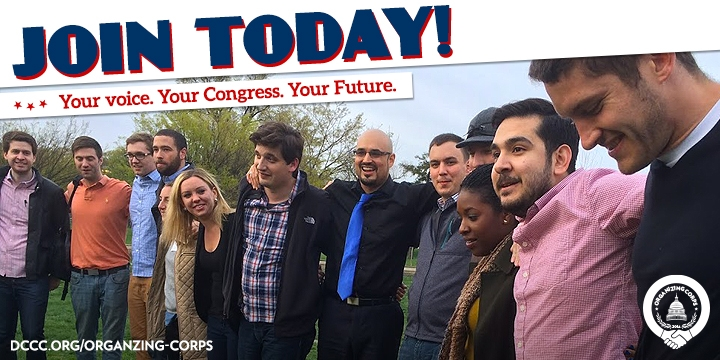 The DCCC is looking for organizing fellows for campaign work this summer – here's how to apply