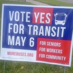 Ann Arbor and Ypsi: Vote YES for More & Better Buses on May 6