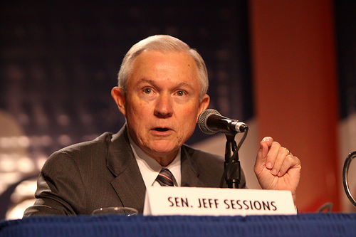 """GOP Senator Jeff Sessions thinks providing healthcare to veterans is an """"entitlement"""" we cannot afford"""